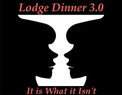 Lodge Dinner 3.0 Vase:face logo