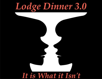 Lodge Dinner 3.0 Vase:face logo